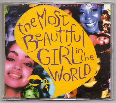 PRINCE The most beautiful girl in the world NPG RARE SPANISH CD SINGLE FONOMUSIC