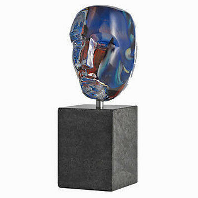 Kosta Boda Bertil Vallien - Brain on stone / LOKE - limited Edition sign&num