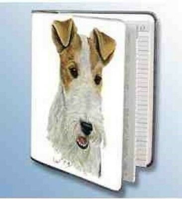 Retired Dog Breed WIREHAIR FOX TERRIER Softcover Address Book by Robert May
