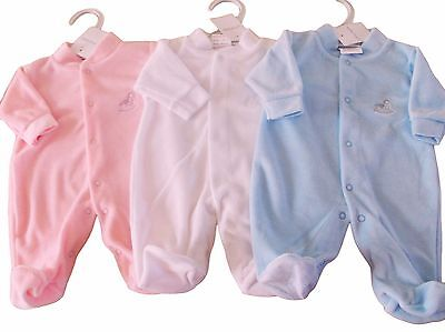 BNWT Exclusive to Kiddiewinks premature tiny Baby boys girls unisex sleep suit