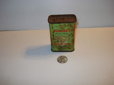 Vintage Collectible Spice - Durkee's Cinnamon ~ 2 Oz. Tin -   Lqqk