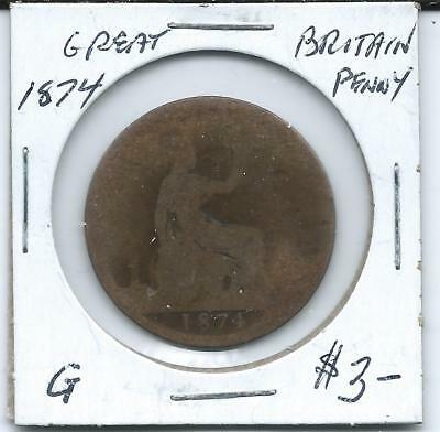 Great Britain 1874  Penny