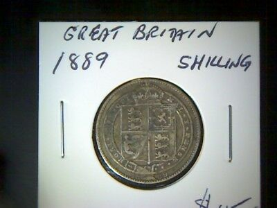 Great Britain 1889 Shilling