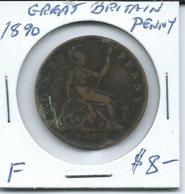 Great Britain 1890  Penny