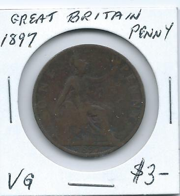 Great Britain 1897 Penny