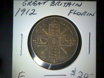 Great Britain 1912  Florin
