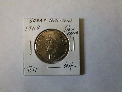 Great Britain 1969 10 New Pence