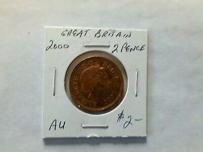 Great Britain 2000 2 New Pence