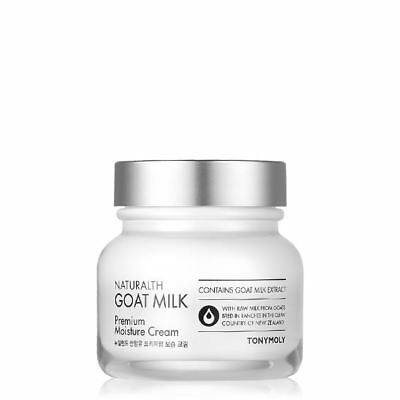 [Tonymoly] Naturalth Goat Milk Premium Moisture Cream 60ml