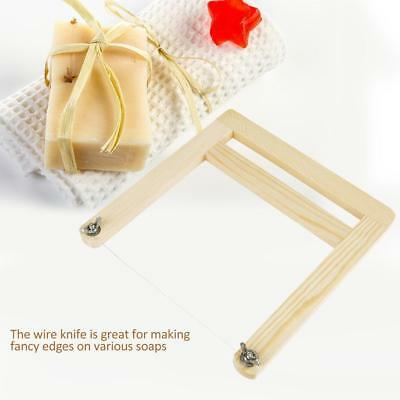 Practical Wood Soap Candle Wax Cut Saw Soap Loaf Wire String Cutter Craft Tool
