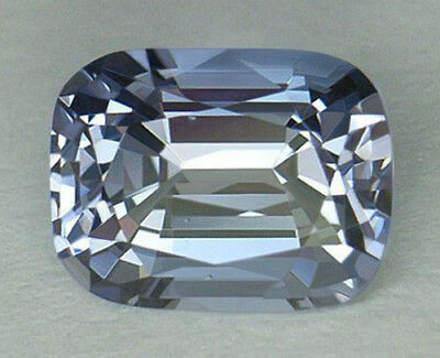 2.72Ct **certified Natural** Very Rare Blue Color Cushion Cut Sri Lankan Spinel