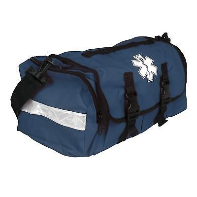 First Responder EMT Paramedic On Call Trauma Bag W/ Reflectors- Navy 17x7x10