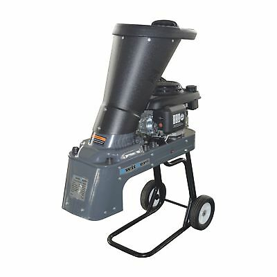 SwitZer 3KW 5HP Garden Petrol Chipper Shredder 159CC Wood Timber 4 Stroke Grey