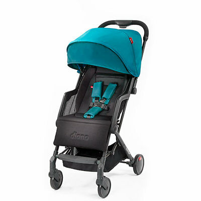 """Diono Traverze Compact Travel Stroller Teal """"Silver Collection"""" New! Free Ship!"""