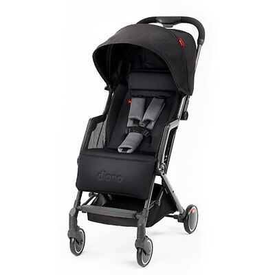 """Diono Traverze Travel Stroller Black Cube  """"Gold Collection"""" New! Free Ship!"""