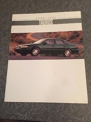 1994 Ford Taurus Car Auto Dealership Advertising Brochure