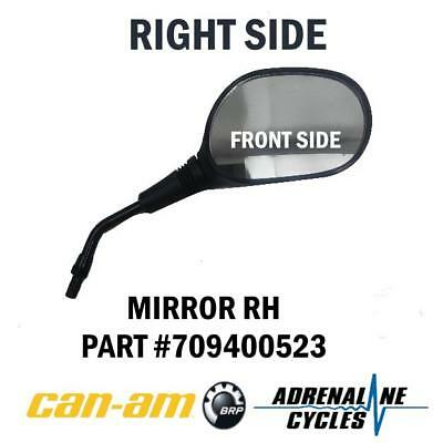 Can Am Outlander 500 570 650 800 850 1000 Right Mirror OEM NEW #709400523