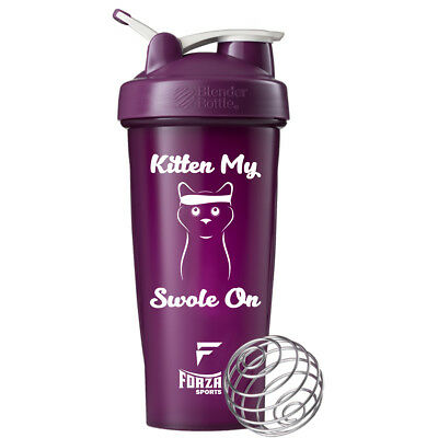 Blender Bottle x Forza Sports 28 oz. Classic Shaker - Kitten My Swole On