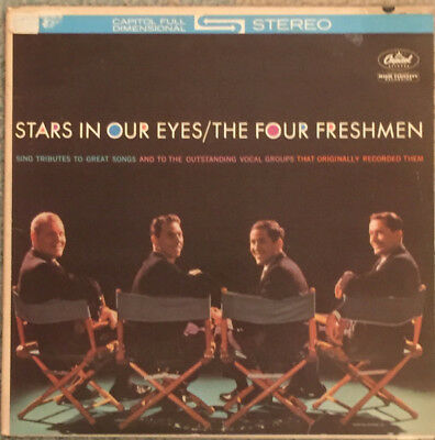 The Four Freshmen Stars In Our Eyes Capitol Records Vinyl LP