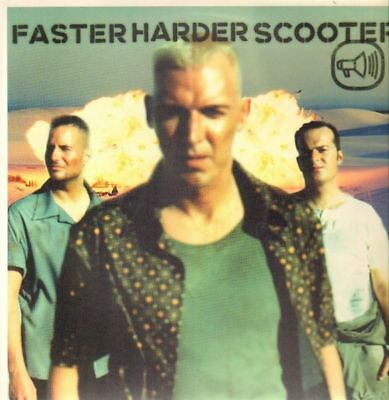 Scooter Faster Harder Scooter Vinyl Single 12inch NEAR MINT Edel