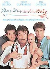Three Men and a Baby (DVD, 2002) NEW