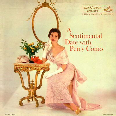 Perry Como A Sentimental Date With Perry Como RCA Victor Vinyl LP
