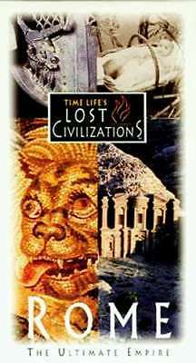 Time Life Lost Civilizations Rome VHS Soldier's Life Gladiators Pompeii Brothels
