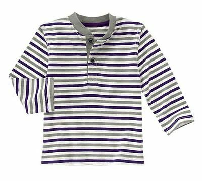 Gymboree Shields and Sails Striped Henley Tee Size 18-24 months MSRP $19 NWT