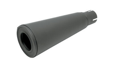 Supertrapp Silencer Exhaust Body With Out Core Black Universal