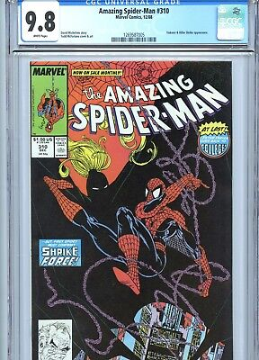 Amazing Spider-Man #310 CGC 9.8 Todd McFarlane Cover & Art Marvel Comics 1988