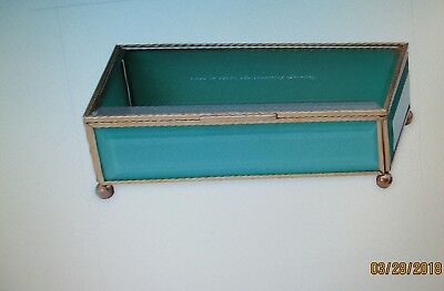 """Kate Spade-New York--""""Out of the Box Turquoise Jewelry Box""""---NIB--Lenox"""