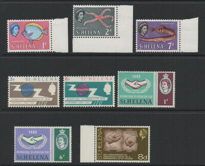 St. Helena, selection of 8 stamps.