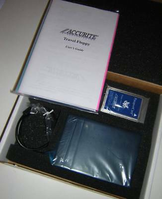 Accurite External PCMCIA Floppy Diskette Drive FDD Kit for Laptops NEW in Box