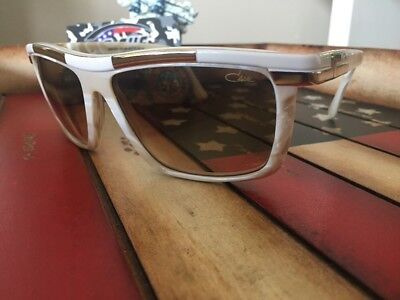 2d8e5bbfb159 New Cazal Legends 8024 Sunglasses Authentic C. 003 White Marble 60-16mm  Germany