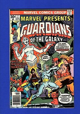 Marvel Presents #7 Nm- 9.2/9.4 Guardians Of Galaxy High Grade Bronze Age Marvel