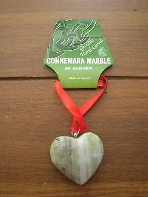 Connemara Marble by Gerard Heart Christmas Hanging Decoration