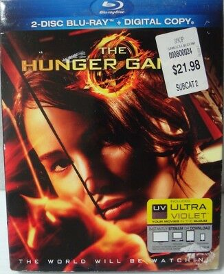 The Hunger Games (Blu-ray Disc, 2012, 2-Disc Set)   -2
