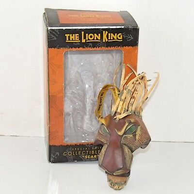 Disney The Lion King The Musical Show Scar Special Edition Ornament