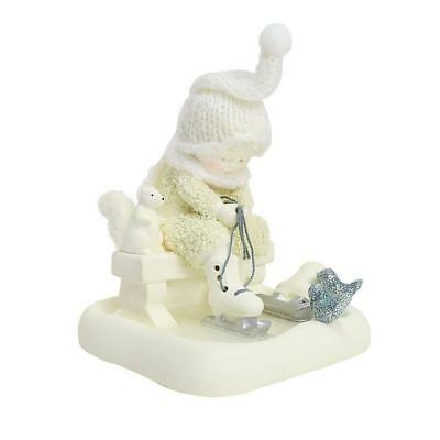 Department 56 Snowbabies Peace New 2018 SKATING WITH FRIENDS Snowbaby 6000837