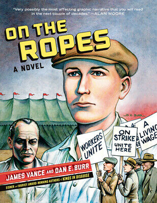 On the ropes: a novel by James Vance (Paperback / softback)