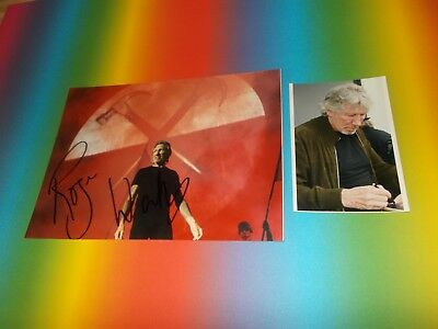 Roger Waters Pink Floyd  signed signiert Autogramm 20x28 Foto in person