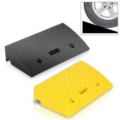 Sound Around Pyle Portable Lightweight Curb Ramps - 2 Pack Heavy Duty Plastic