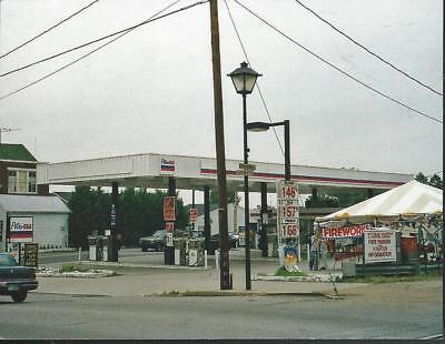 """PETRO USA GAS Station Lincoln Diner Gettysburg PA 2 sided Postcard 5.5 x 4.25"""""""