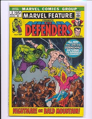 Marvel Feature # 2 - 2nd Defenders VF Cond.