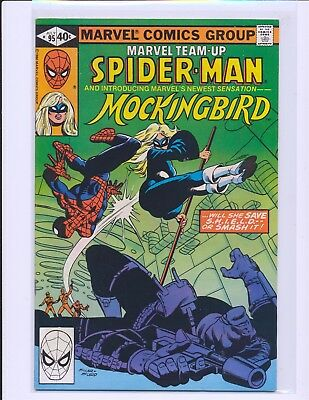 Marvel Team-Up # 95 - 1st Mockingbird Fine+ Cond.