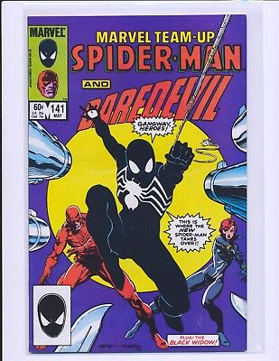 Marvel Team-Up # 141 - 1st Black Costume VF Cond.