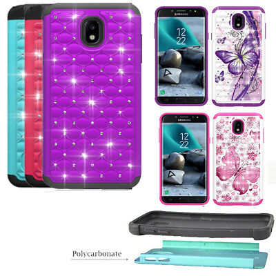 Phone Case for Samsung Galaxy J7 Refine / J7 Star Dual-Layered Crystal Cover