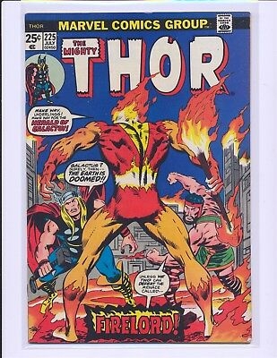 Thor # 225 - 1st Firelord Fine/VF Cond.