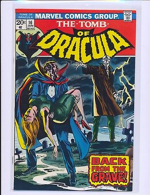 Tomb of Dracula # 16 VF/NM Cond.