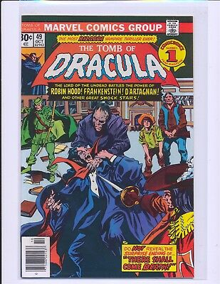 Tomb of Dracula # 49 NM- Cond.